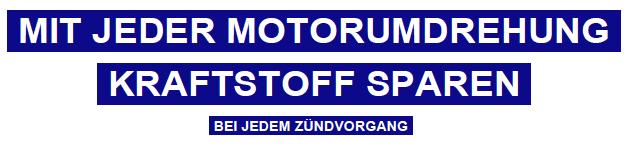 Mit jeder Motordrehung Kraftstoff sparen